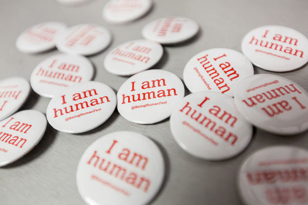 Being Human Festival I Am Human Badge