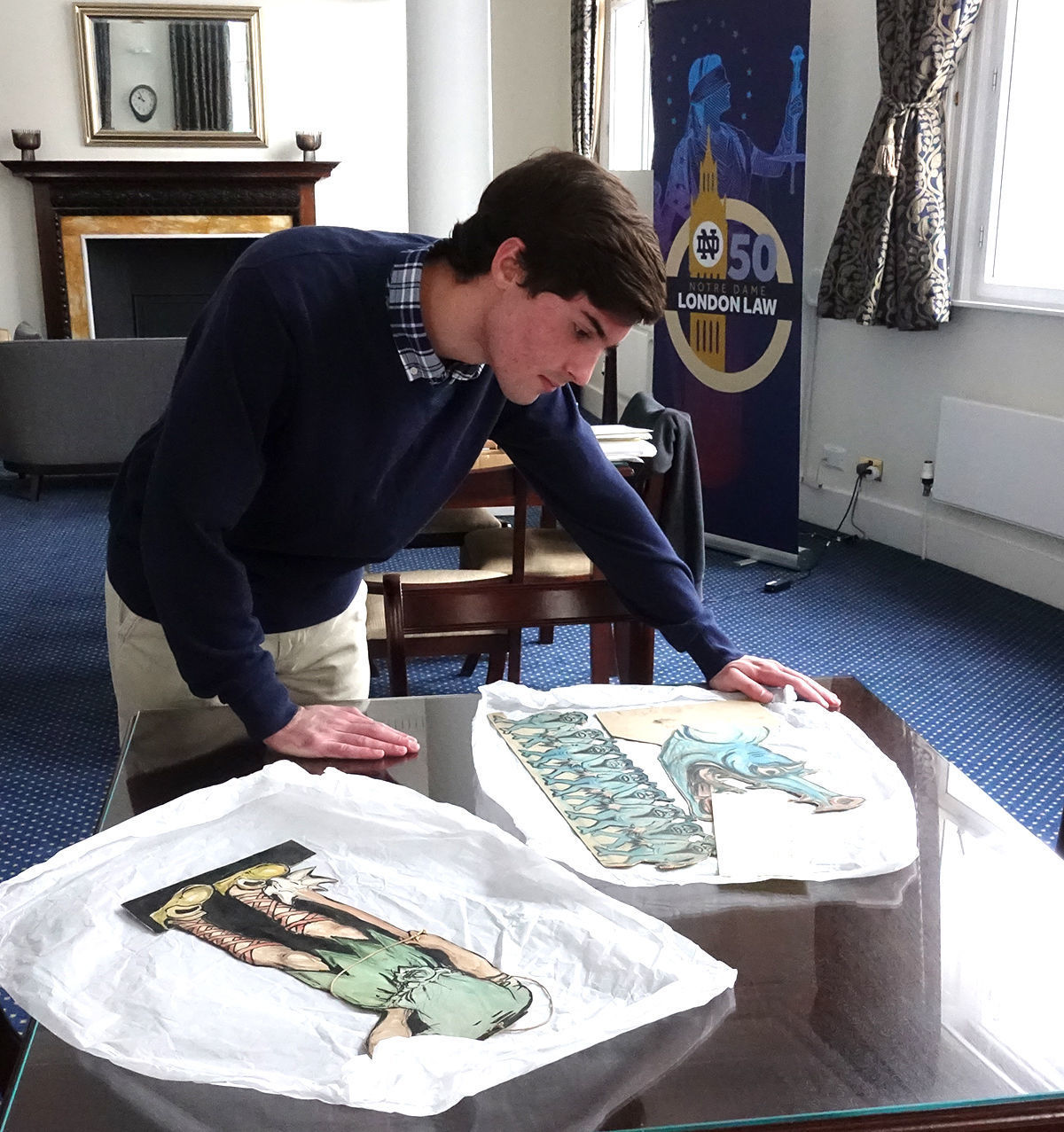 Brady At Archive